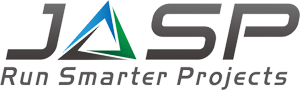 JASP Run Smarter Projects Logo